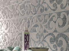 Italgraniti, EMPREINTE FRISER AZUR Rivestimento in ceramica a pasta bianca