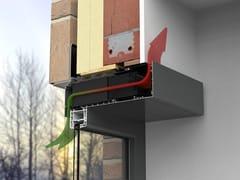 Sistema di ventilazione per finestre in alluminioHEALTHBOX 3.0 - RENSON®