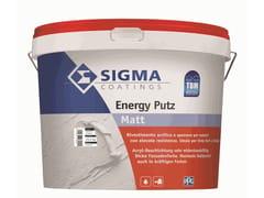 Rivestimento a base di resine acriliche pureENERGY PUTZ - SIGMA COATINGS