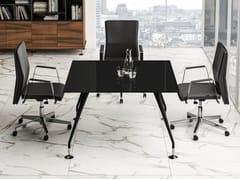 Tavolo da riunione quadrato ENOSI EVO | Tavolo da riunione - Enosi Evo