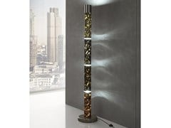 Lampada da terra a LED in Crystal Stone®EOS - BALLARINI
