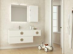 Mobile lavabo laccato sospeso in legno con cassettiEPOQUE EQ02 - ARTEBA