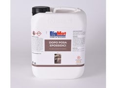 Prodotto per la rimozione di residui di resine e stucchiDOPO POSA EPOSSIDICI - BIGMAT ITALIA