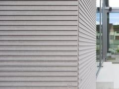 Pannello per facciata ventilata in fibrocemento ecologicoEQUITONE [linea] - CREATON ITALIA