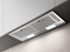 Cappa in acciaio ad incasso con illuminazione integrataERA C - ELICA