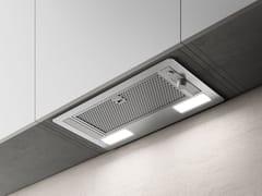 Cappa in acciaio inox ad incasso con illuminazione integrataERA S - ELICA