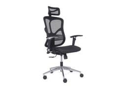 Sedia ufficio ergonomica in rete con braccioliERGO 500 - ARREDIORG