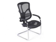 Sedia ufficio ergonomica in rete con braccioliERGO 650 - ARREDIORG
