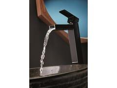 Miscelatore per lavabo monocomando monoforo senza scarico ERGO OPEN | Miscelatore per lavabo senza scarico - ERGO OPEN