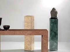 Piedistallo in marmo Guatemala VerdeERMETE | Piedistallo - INTERNATIONAL MARMI