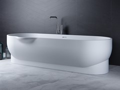 Le Projet, EROSION-BT01 Vasca da bagno ovale in Meridian Solid Surface®