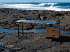 Scrivania in legno con cassettiEROSION   Scrivania in legno - MAVENCI