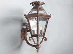 Lampada da parete per esterno in ferroESAGONA   Lampada da parete per esterno - OFFICINACIANI DI CATERINA CIANI & CO.