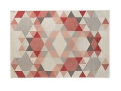 Tappeto rettangolare a motivi geometriciESAGONO - CALLIGARIS