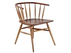 Sedia in legno con braccioli ESKI | Sedia -
