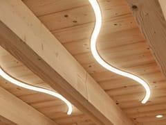 Lampada da soffitto a LED in Corian®ESSE - BRILLAMENTI BY HI PROJECT