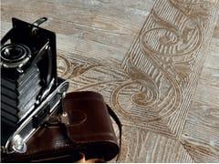 Pavimento in marmo effetto legno ESSENCE - FLEUR DE BOIS - Acquaforte