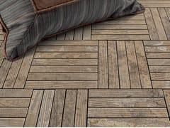 Pavimento in marmo effetto legno per interni ed esterni ESSENCE - LISTELLO - Acquaforte