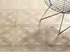 Pavimento in marmo effetto legno ESSENCE - QUADROTTA TILE 457 - Acquaforte
