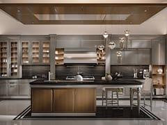 Cucina su misura in legno con isolaESSENZA | Numero5 - MARTINI MOBILI