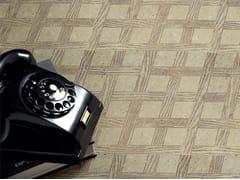 Pavimento in marmo effetto legno ESSNCE - QUADROTTA TILE 305 - Acquaforte