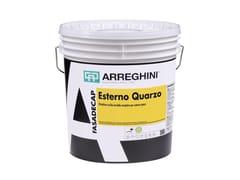 Pittura riempitiva opaca per esternoESTERNO QUARZO - CAP ARREGHINI