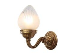 Lampada da parete in ottone ESZTERGOM I | Lampada da parete - Esztergom