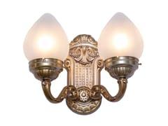 Lampada da parete in ottone ESZTERGOM III | Lampada da parete - Esztergom