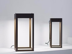 Lampada da terra per esterno a LED in acciaio inoxETEREA   Lampada da terra per esterno - PLATEK