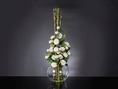 Pianta artificiale ETERNITY PENELOPE COLUMN ROSES - VGNEWTREND