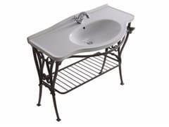 Consolle lavabo in alluminio ETHOS 110 | Consolle lavabo - Ethos
