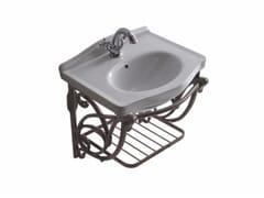 Mobile lavabo sospeso in alluminio ETHOS 55 | Mobile lavabo in alluminio - Ethos