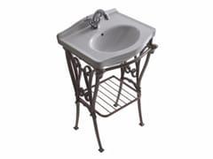 Consolle lavabo in alluminio ETHOS 55 | Consolle lavabo - Ethos