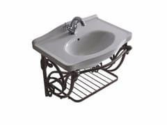 Mobile lavabo sospeso in alluminio ETHOS 65 | Mobile lavabo in alluminio - Ethos