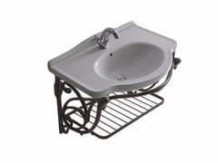 Mobile lavabo sospeso in alluminio ETHOS 75 | Mobile lavabo in alluminio - Ethos