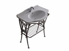 Consolle lavabo in alluminio ETHOS 75 | Consolle lavabo - Ethos