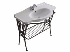 Consolle lavabo in alluminio ETHOS 95 | Consolle lavabo - Ethos