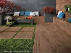 Pavimento per esterni in gres porcellanato effetto legno ETIC PRO | Pavimento per esterni in gres porcellanato - Etic Pro