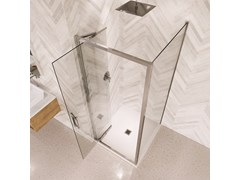 Porta a battente in vetro per docciaETO INFOLD DOOR - FLAIR SHOWERS