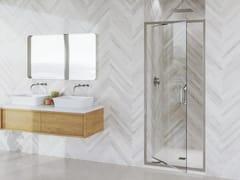 Flair Showers, ETO INFOLD DOOR Porta a battente in vetro per doccia
