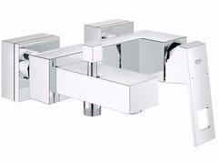 Miscelatore per vasca a muro con finitura lucida EUROCUBE | Miscelatore per vasca - Eurocube
