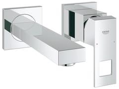Miscelatore per lavabo a 2 fori a muro EUROCUBE SIZE S | Miscelatore per lavabo a 2 fori - Eurocube