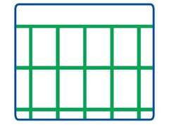 Rete elettrosaldata zincata e plastificataEURONET® PLAST M/G   75 x 50 PESANTE - METALLURGICA IRPINA