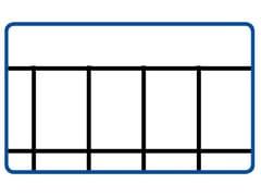 Rete elettrosaldata zincataEURONET® ZINC M/G   75 x 50 PESANTE - METALLURGICA IRPINA