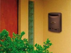 Alubox, EUROPA Cassetta postale in alluminio pressofuso per esterni