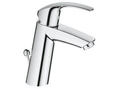 Miscelatore per lavabo da piano monocomando con limitatore di temperatura EUROSMART SIZE M   Miscelatore per lavabo con piletta - Eurosmart