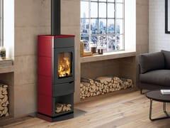 Stufa a legna per riscaldamento aria classe AEVA S CON VANO APERTO - PALAZZETTI LELIO