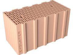 Blocco per tamponamento in laterizioEVOLATER NZEB 50x25x25 - FORNACI DCB
