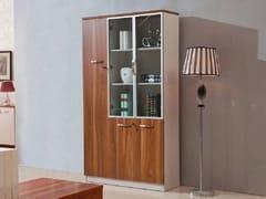 Mobile ufficio alto in legno con ante a battenteEVOLUTIO C208 - ARREDIORG