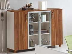 Mobile ufficio in legno con ante a battenteEVOLUTIO D206 - ARREDIORG